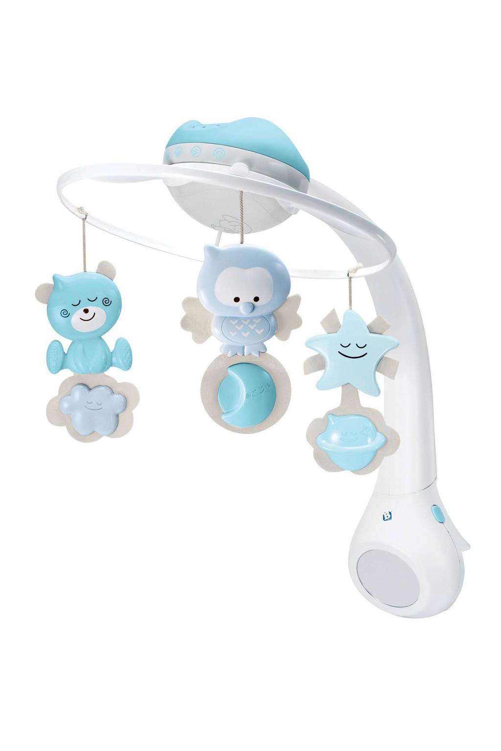 Infantino muziekmobiel met projector, Blauw