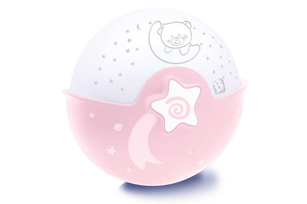 Infantino nachtlampje met projector, Roze