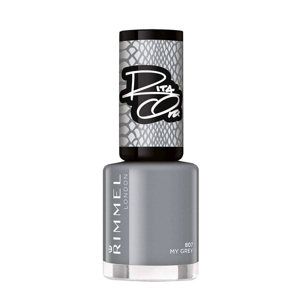 Rimmel London 60 seconds supershine nailpolish by Rita - 807 My Grey, 807 My Grey