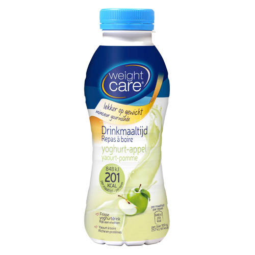 Weight Care drinkmaaltijd yoghurt-appel - 1 stuk