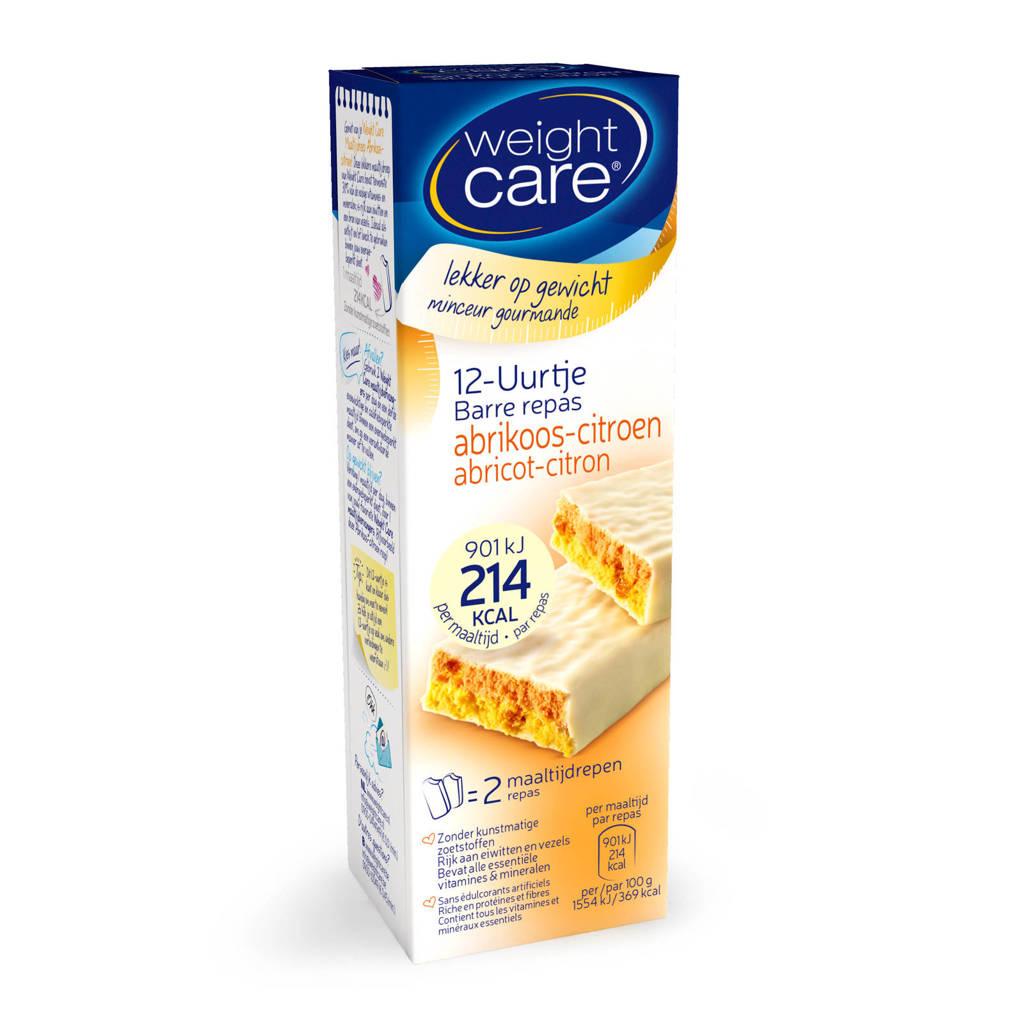 Weight Care 12-uurtje Abrikoos-Citroen - 1 pak 2 stuks, Abrikoos/citroen