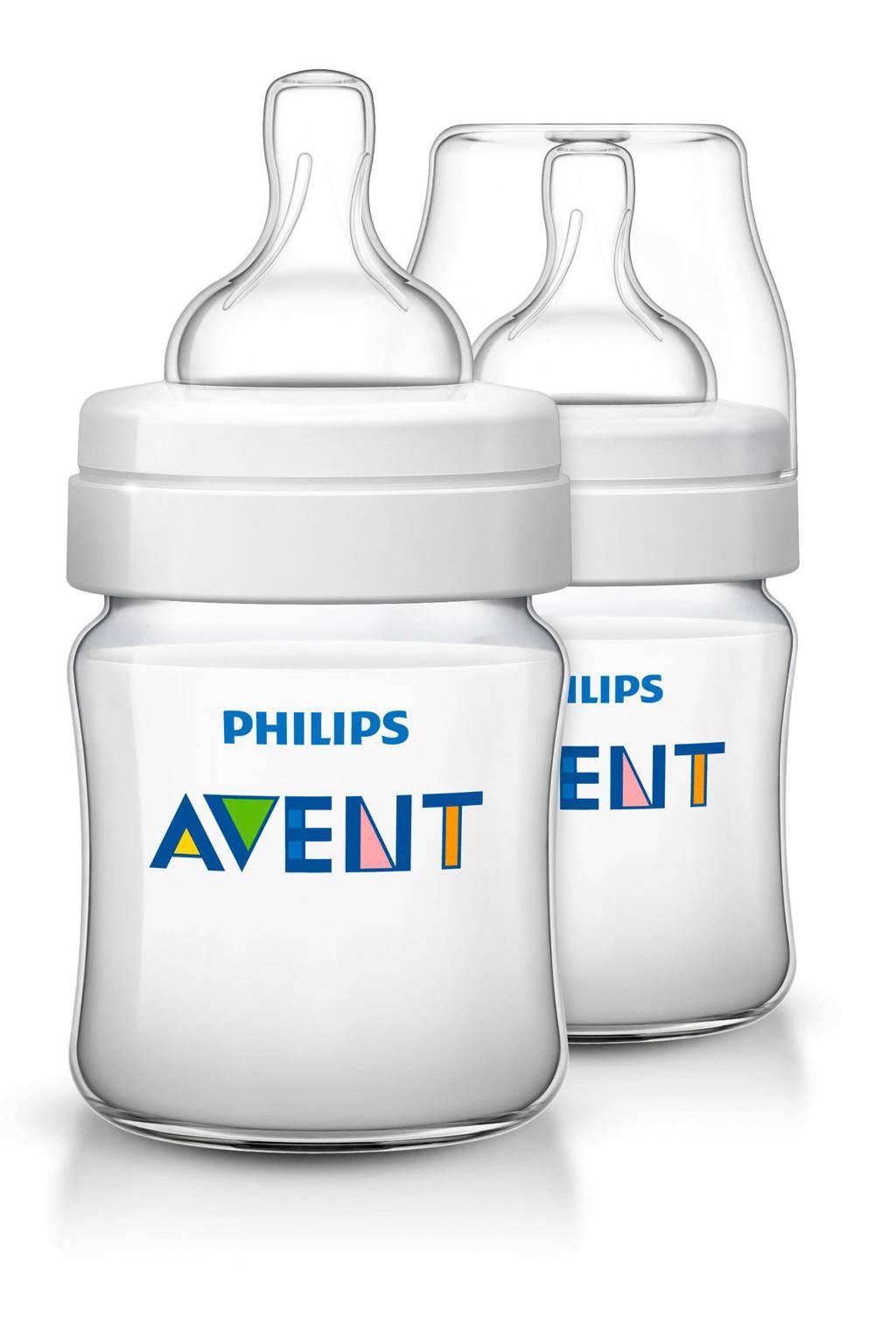 Philips AVENT SCF560/27 Classic+ babyfles - 2x 125 ml, 2 x 125 ml