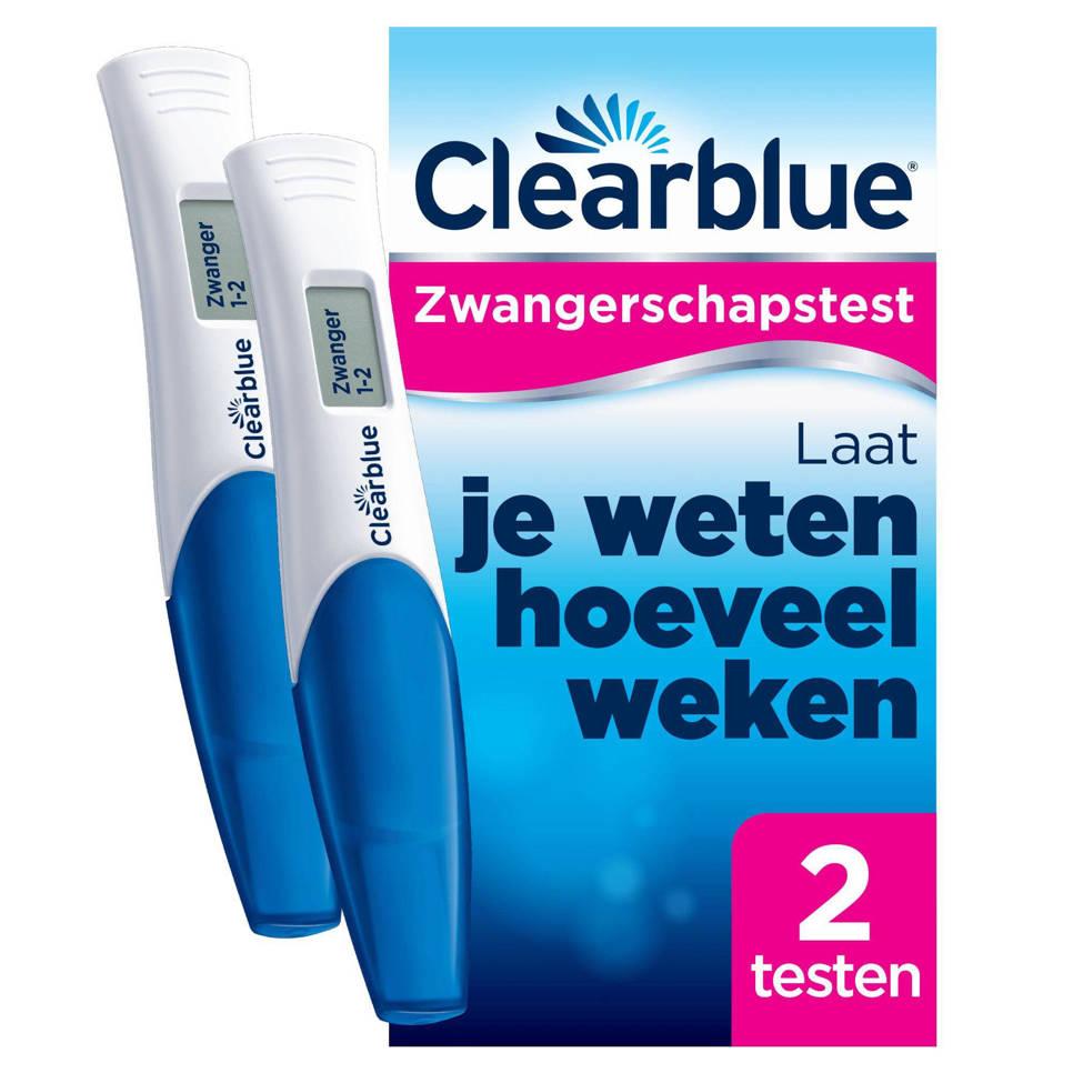 Clearblue digitale zwangerschapstest met conceptie indicator 2 stuks