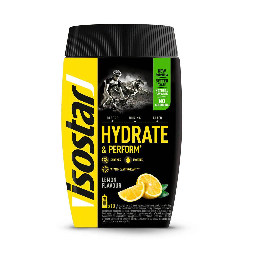 Isostar Hydrate & Perform poeder - lemon  - 1 blik 400 gram