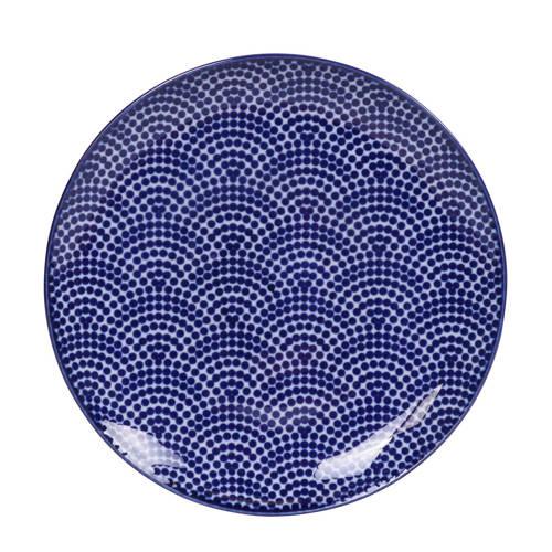 Tokyo Design Studio Nippon Blue gebaksbord (Ø16 cm) kopen