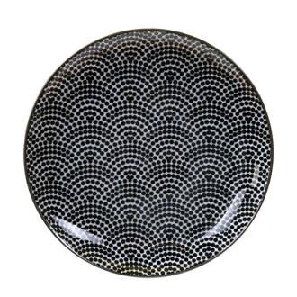 Nippon Black gebaksbord (Ø16 cm)