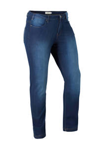 Zizzi slim fit jeans, Blauw