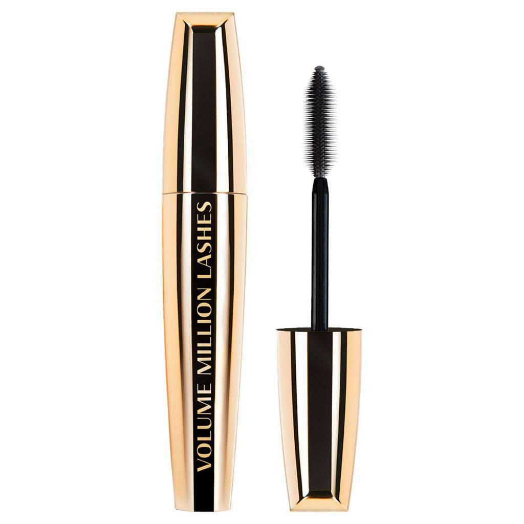 L'Oréal Paris Volume Million Lashes mascara - Black, Zwart