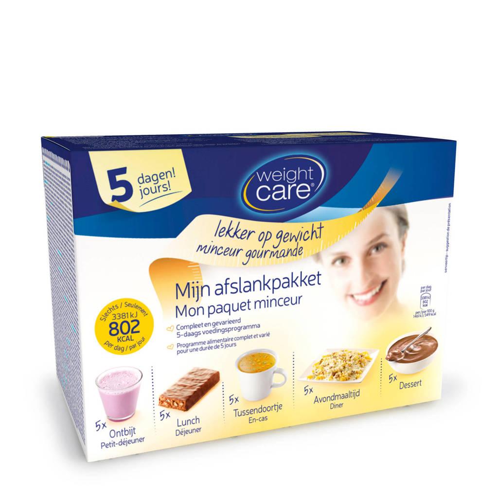 Weight Care Afslankpakket  - 1 doos 5 daagse kuur