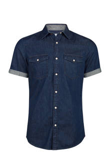 Blue Ridge slim fit denim overhemd