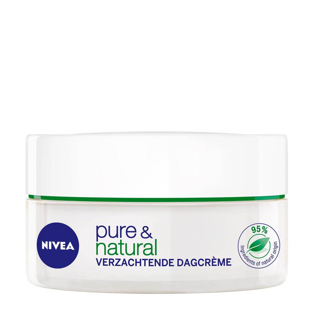 NIVEA Pure & Natural verzachtende dagcrème - 50ml