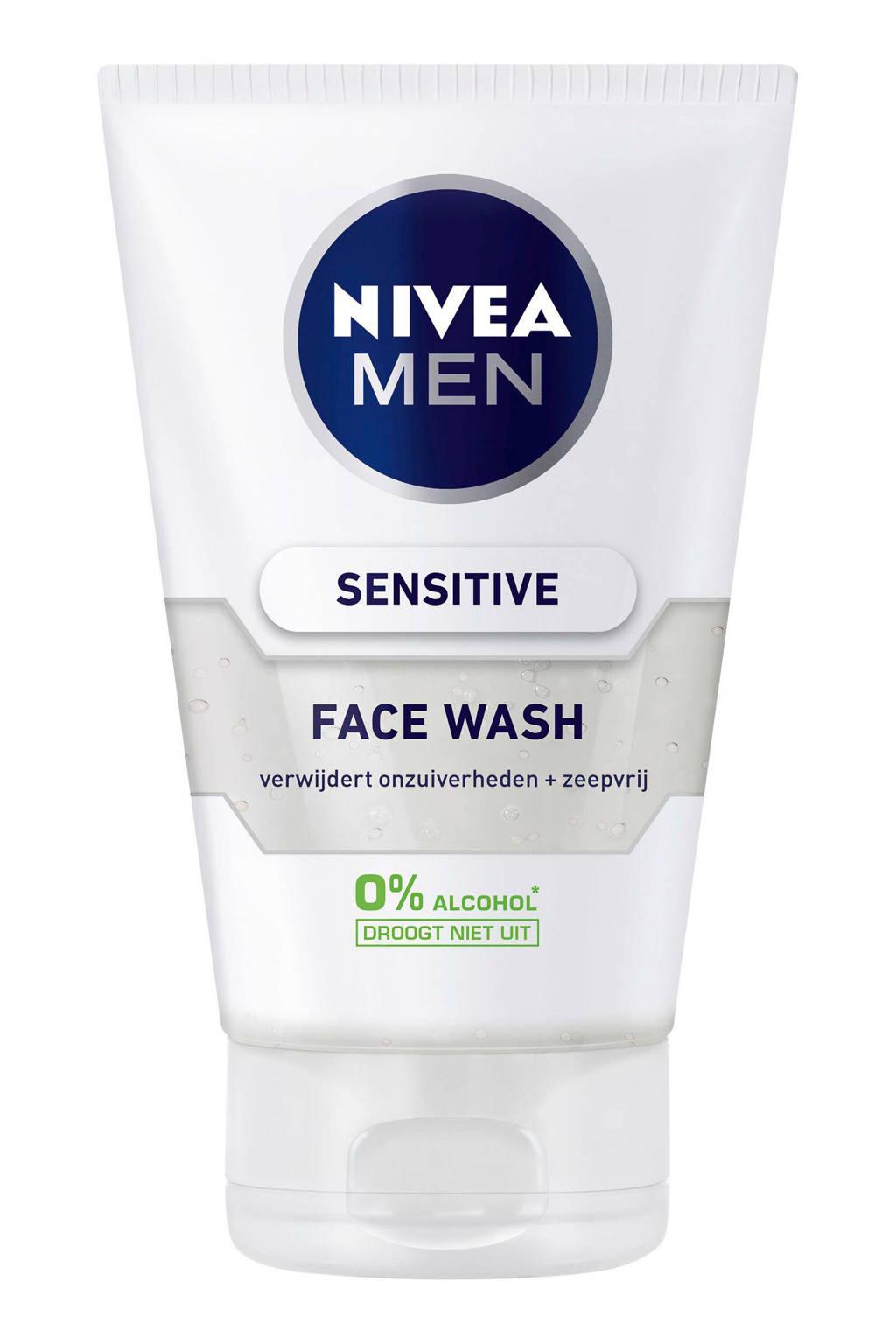 NIVEA FOR MEN Sensitive reinigingsgel
