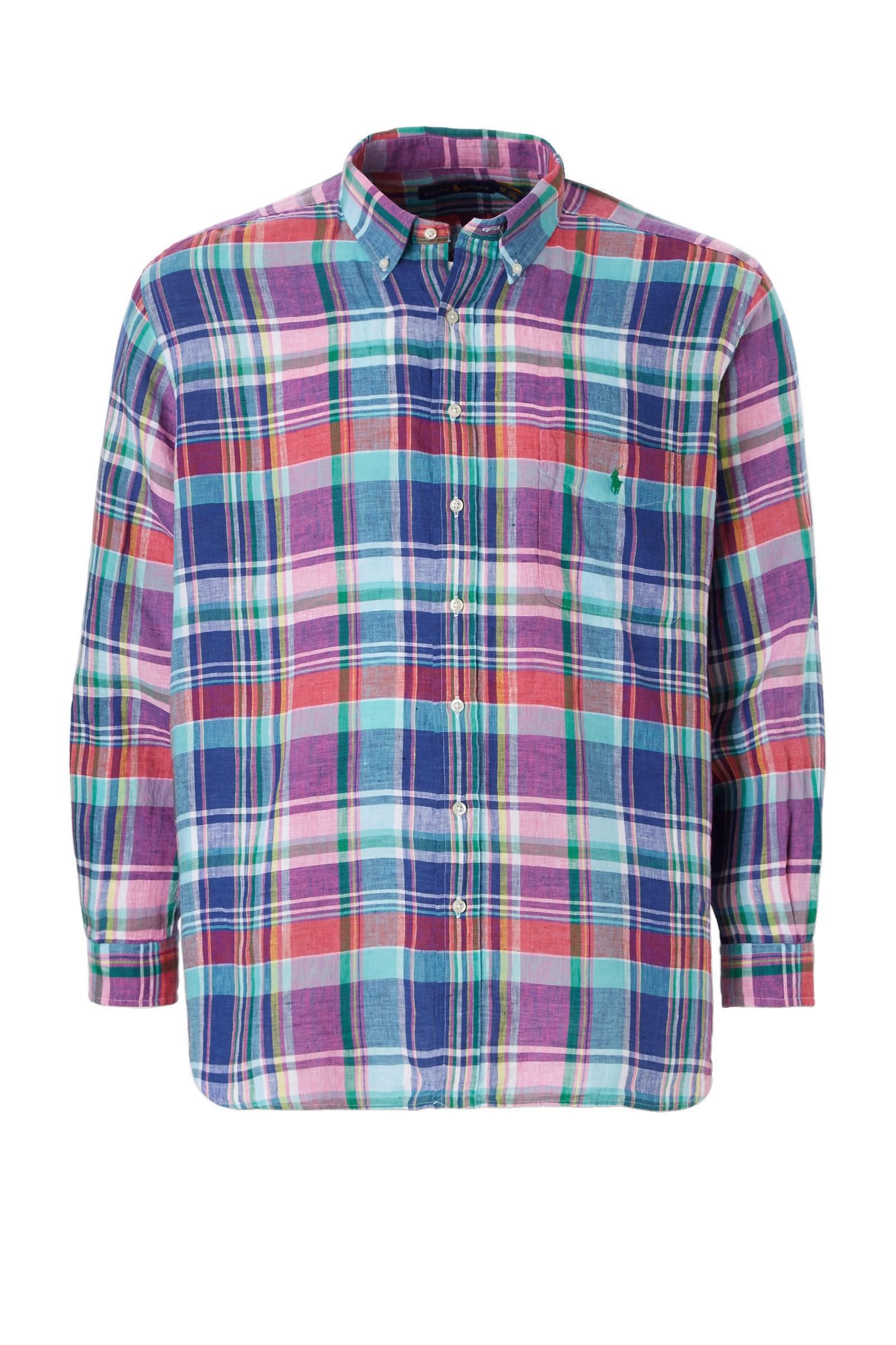 POLO Ralph Lauren Big & Tall +size regular fit overhemd (heren)