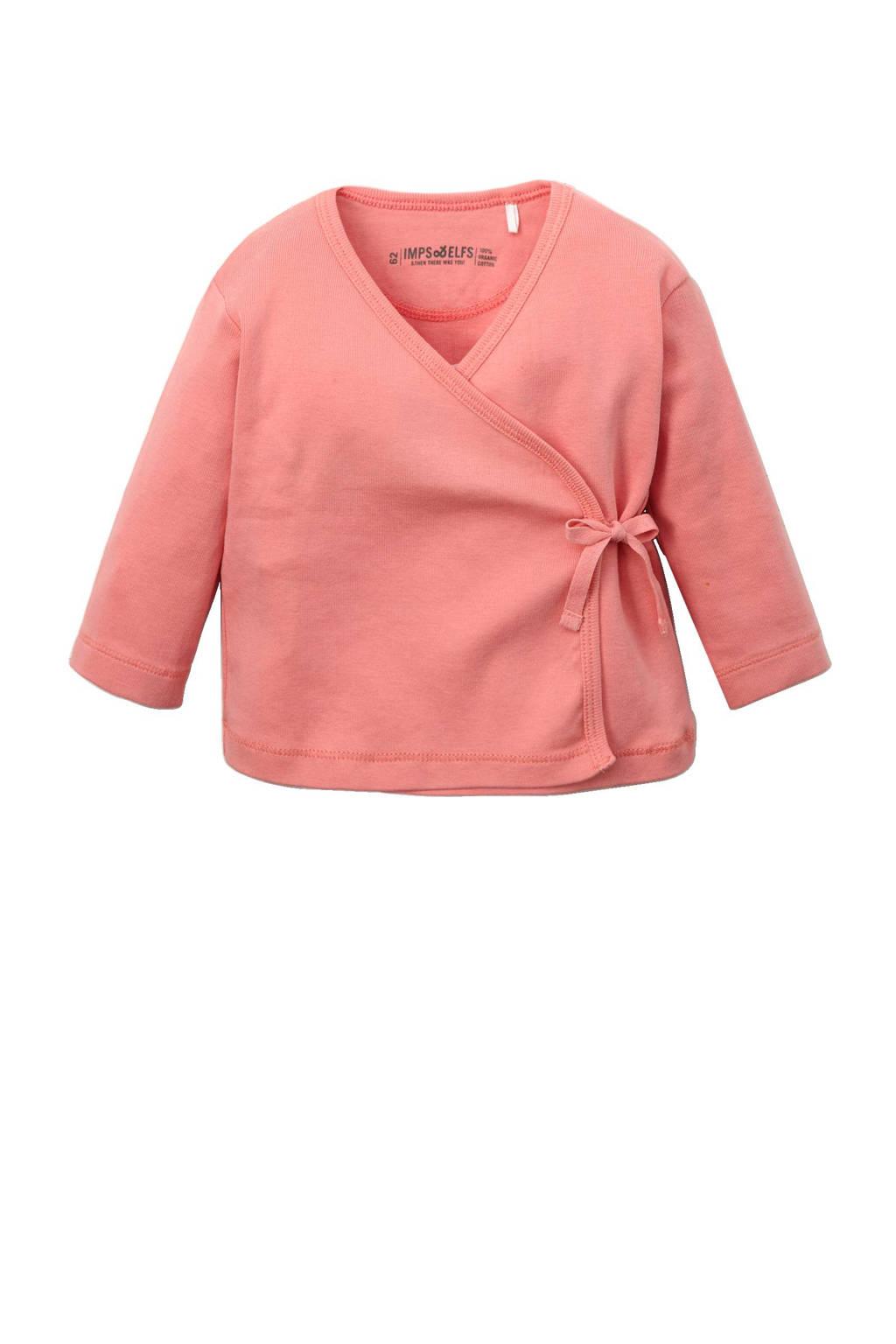 IMPS&ELFS baby newborn vest, Roze