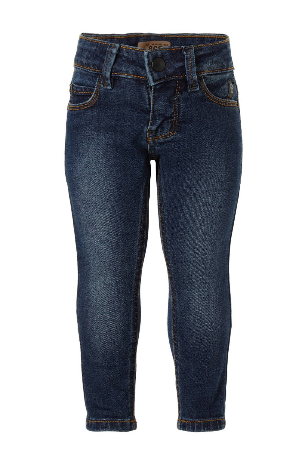 IMPS&ELFS baby tapered fit jeans, Stone used blue