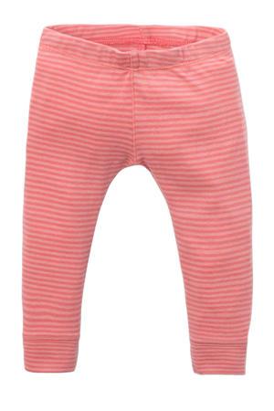 gestreepte legging roze