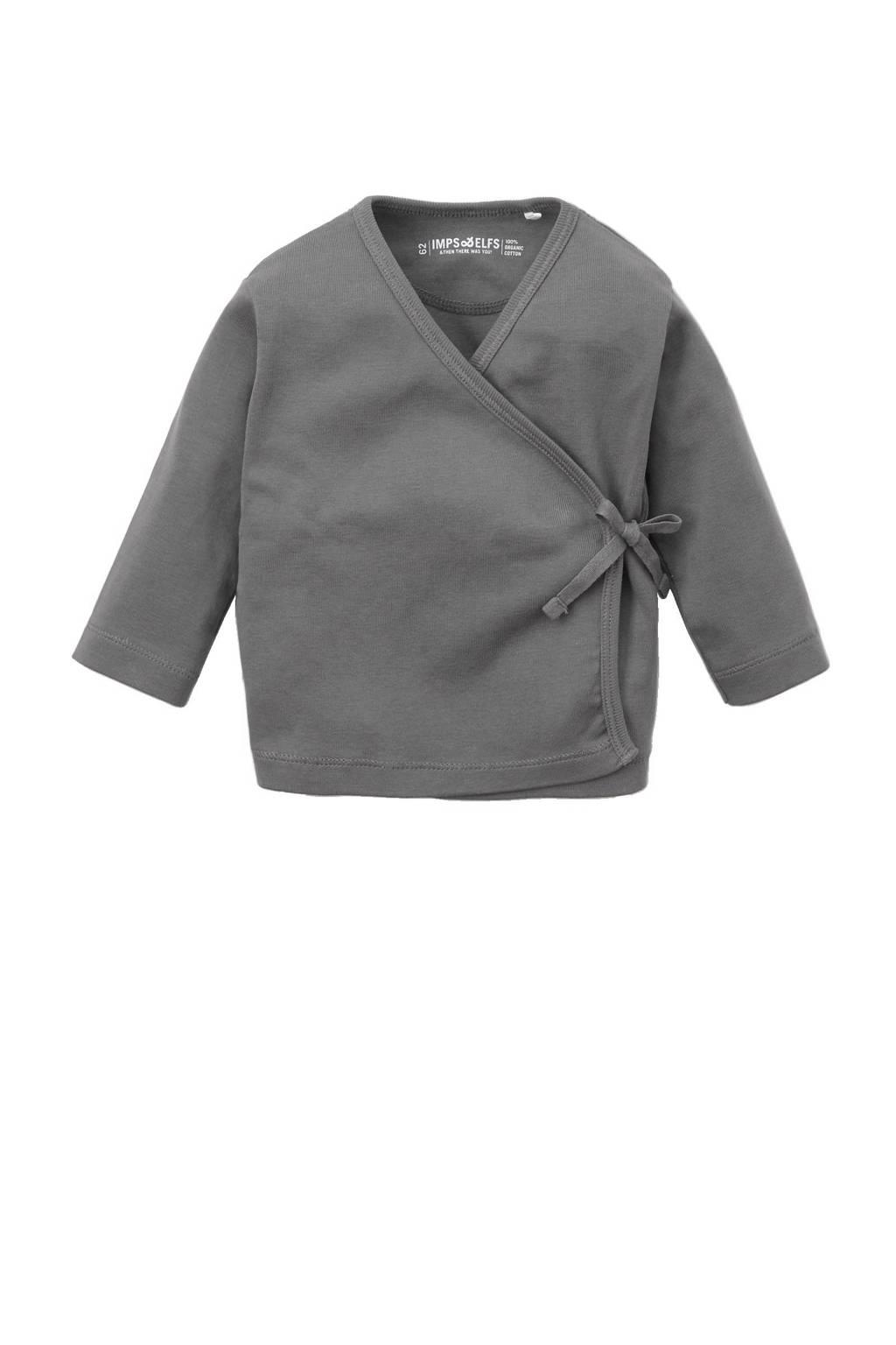 IMPS&ELFS baby newborn vest, Grijs