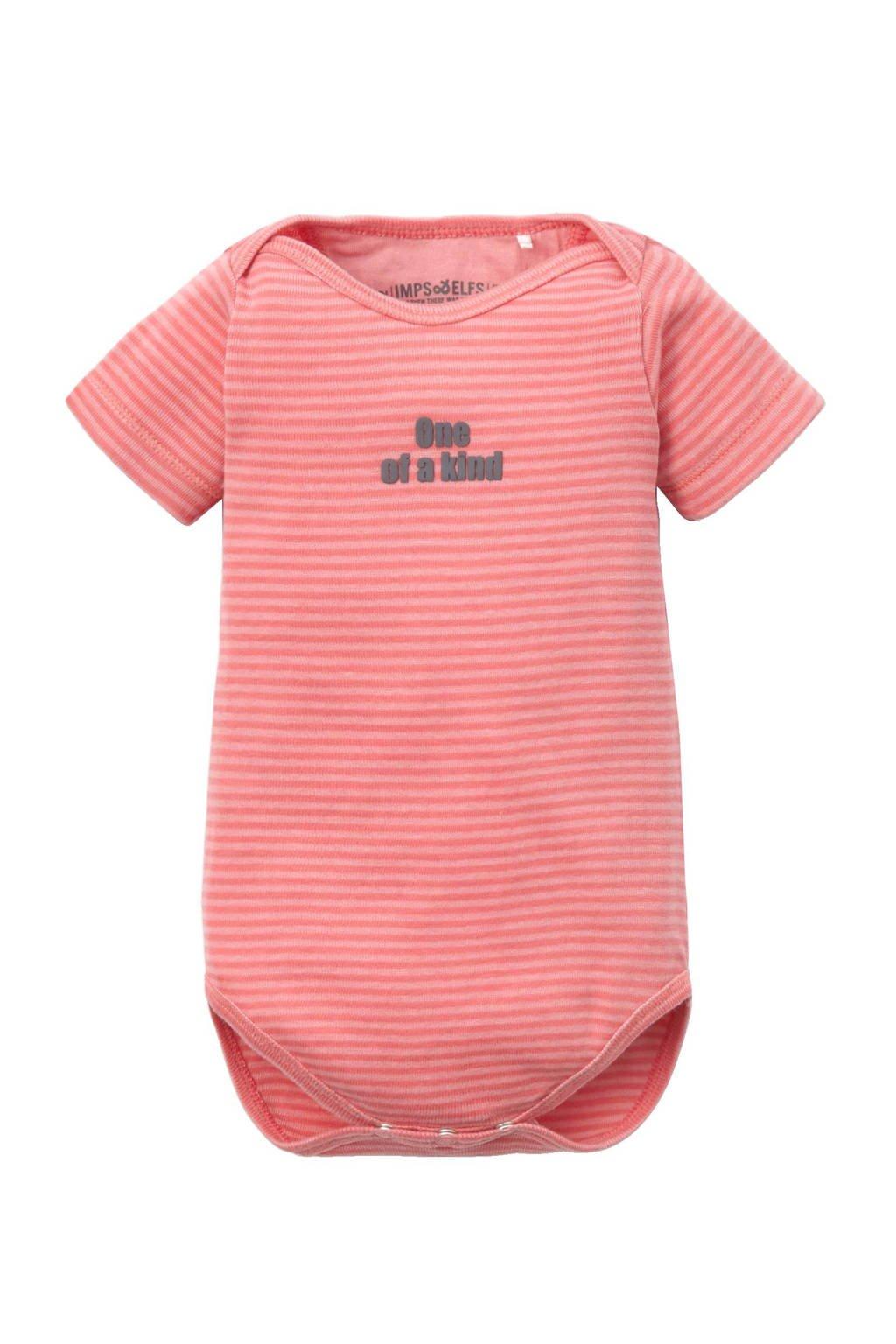 IMPS&ELFS newborn baby romper, Roze