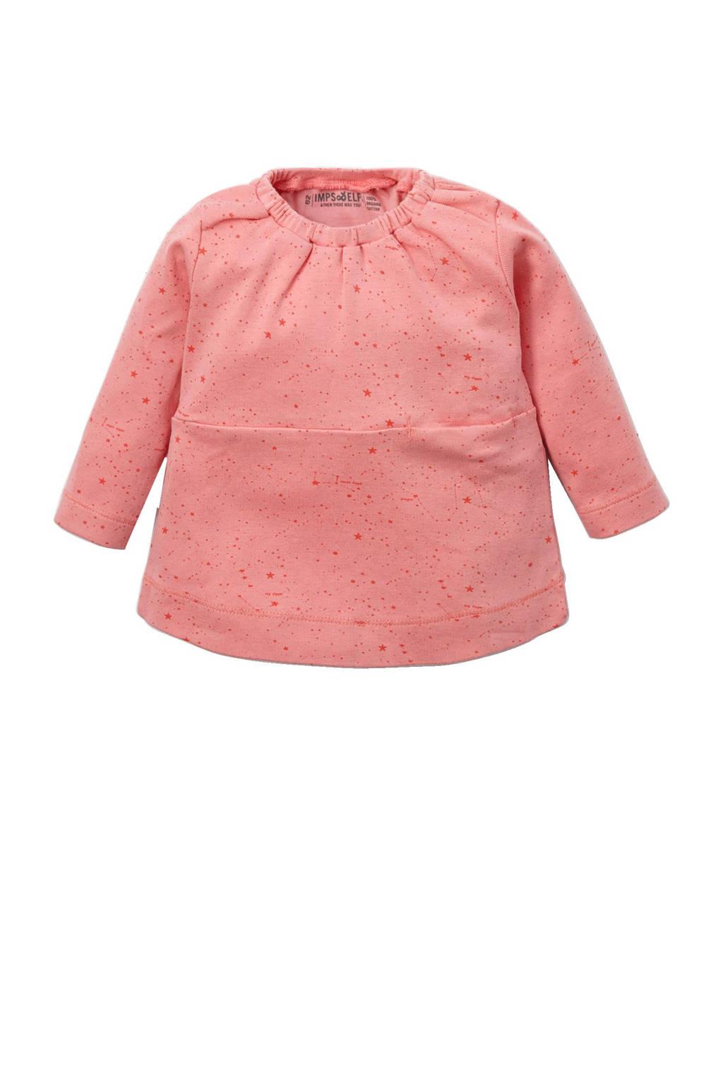 IMPS&ELFS newborn baby jurk, Roze
