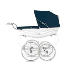 Balmoral kinderwagen white/blue