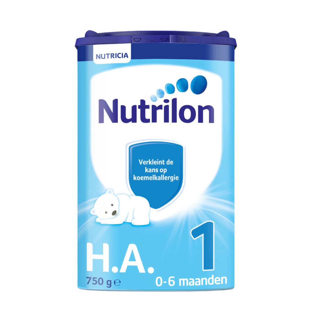 Nutrilon  H.A. 1 - vanaf 0 maanden - verkleint de kans op koemelkallergie - 800 gram - Flesvoeding