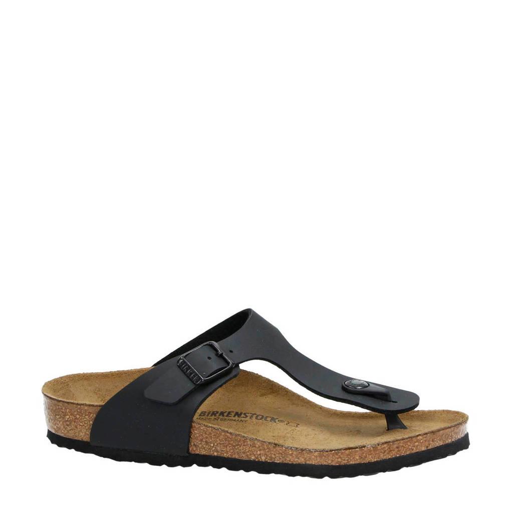 Birkenstock   Gizeh slippers, Zwart