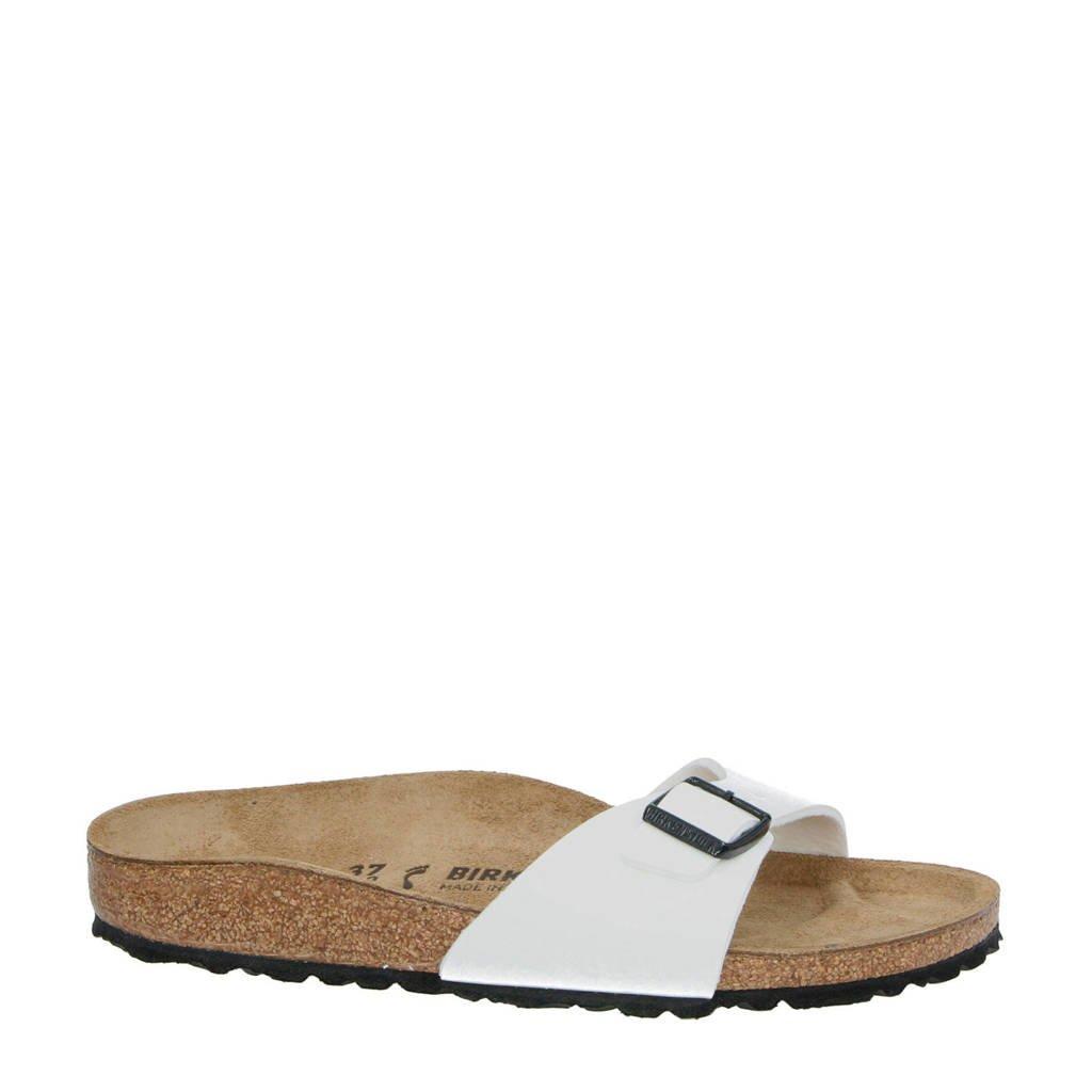 cd3a630df8e Birkenstock Madrid slippers wit   wehkamp