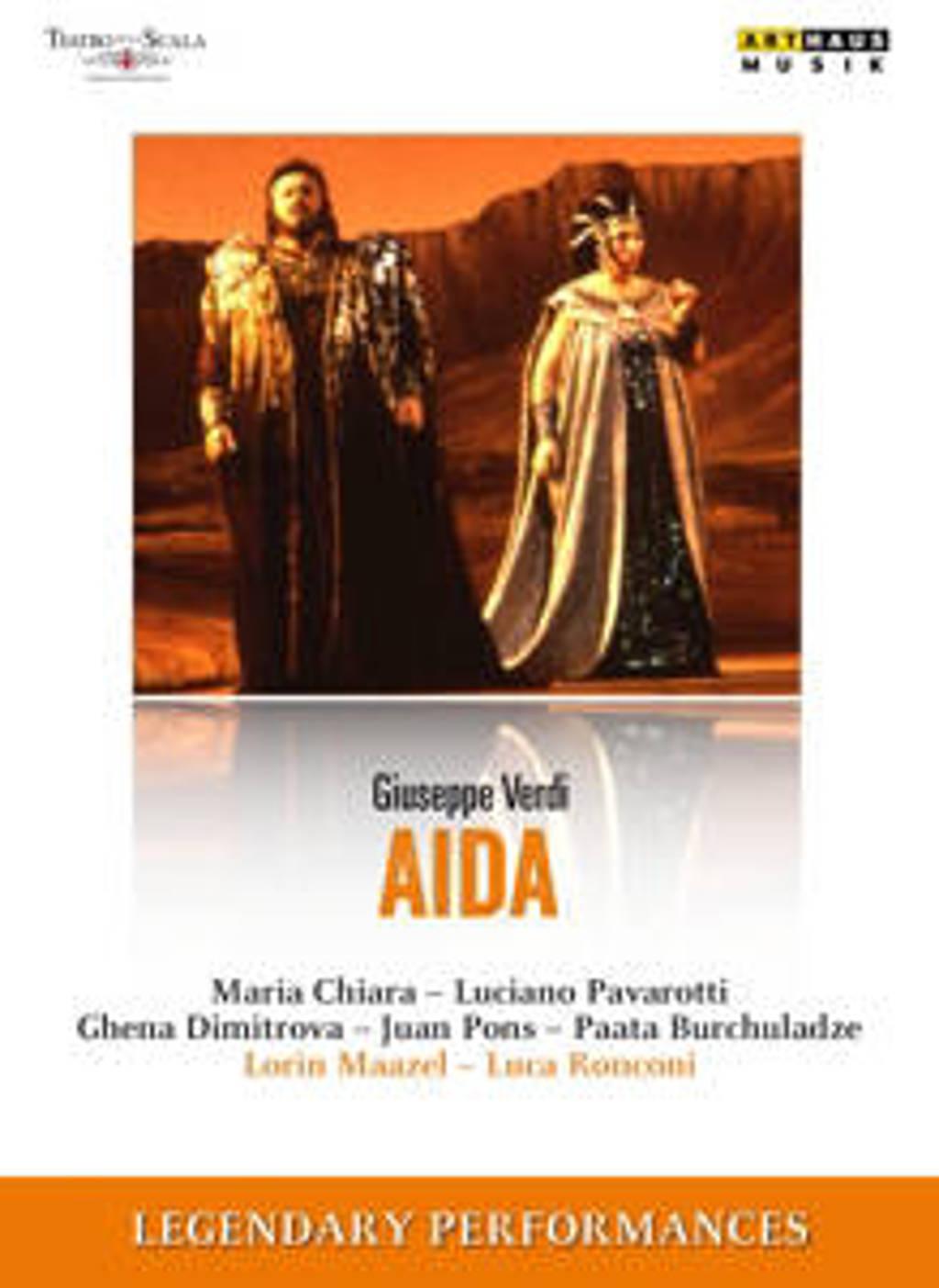 Pavarotti Chiara - Legendary Performances Aida (DVD)