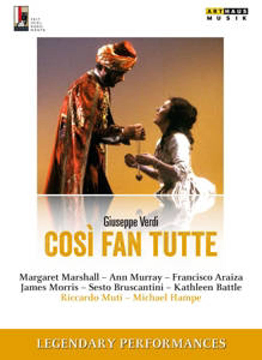 Marshall,Murray,Araiza - Legendary Performances Cosi Fan Tut (DVD)