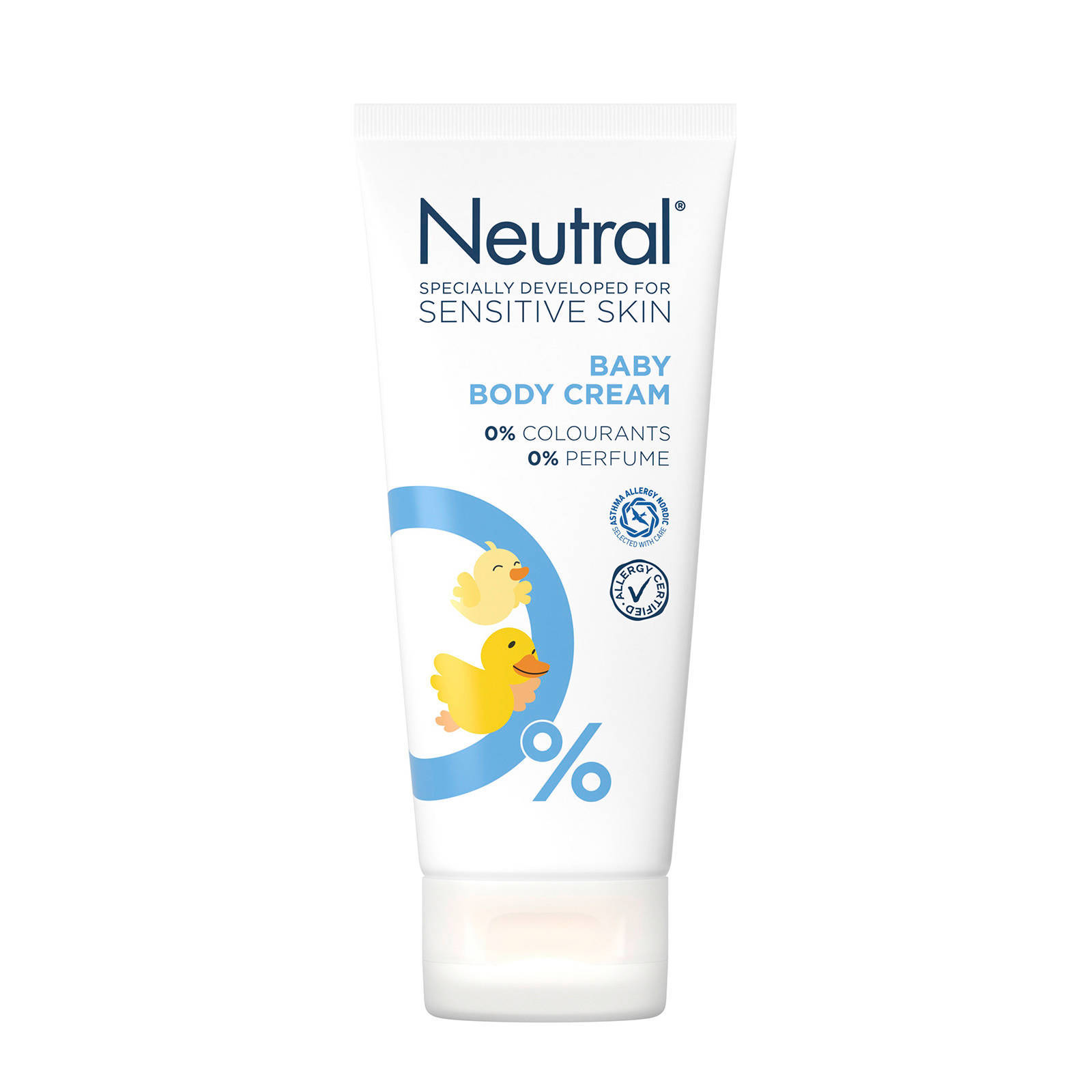 Neutral Baby body crème - 100 ml - parfumvrij
