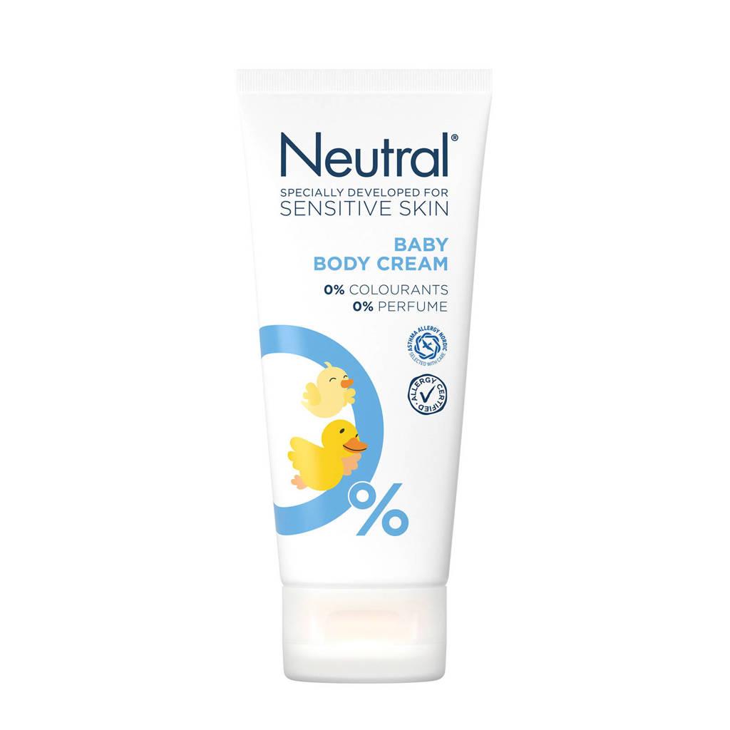 Neutral Baby body crème - 100 ml - parfumvrij