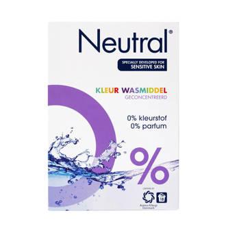 wasmiddel kleur - 18 wasbeurten - poeder - parfumvrij