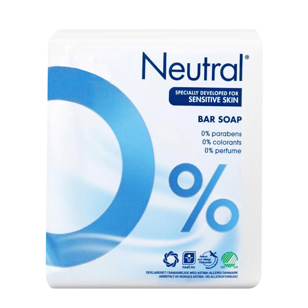 Neutral zeep tablet - 2x100 g - parfumvrij, 200 gram