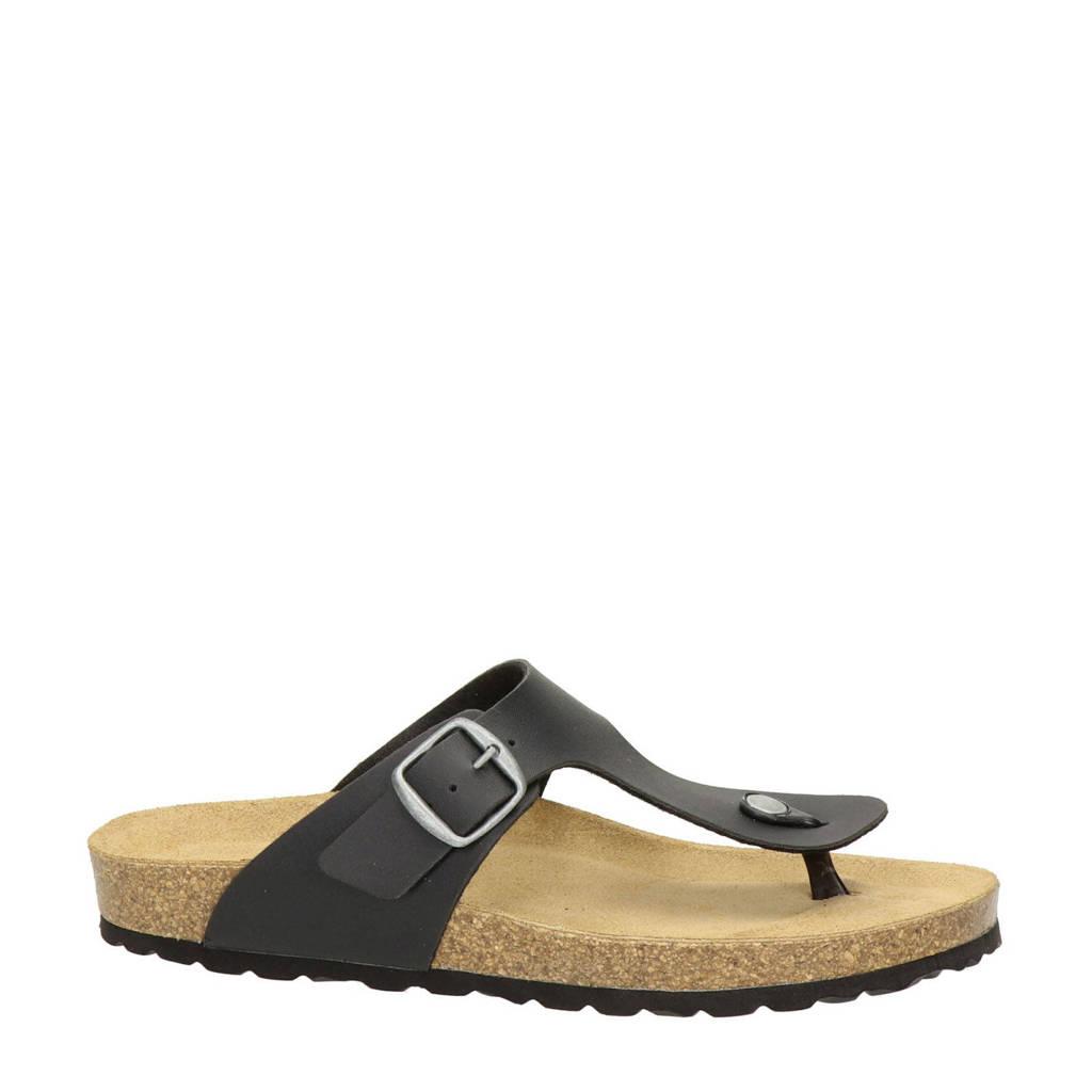 Nelson   slippers, Zwart