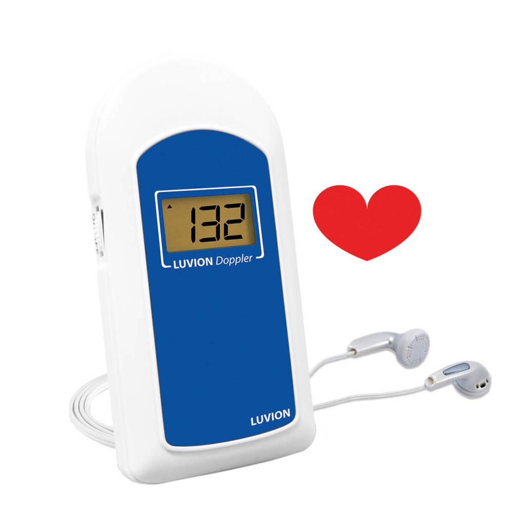 Luvion Doppler Deluxe 80 babyhartslag geluidsapparaat, Wit