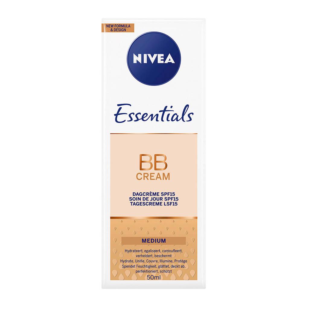 NIVEA Essentials BB crème 6in1 egaliserende dagcrème SPF 10 - 50ml