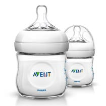 Philips AVENT SCF690/27 Natural voedingsfles - 2 x 125 ml