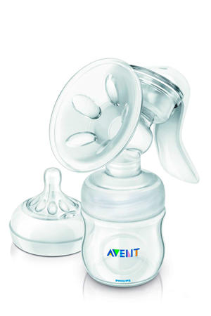 SCF330/20 Comfort borstkolf met fles (125 ml)