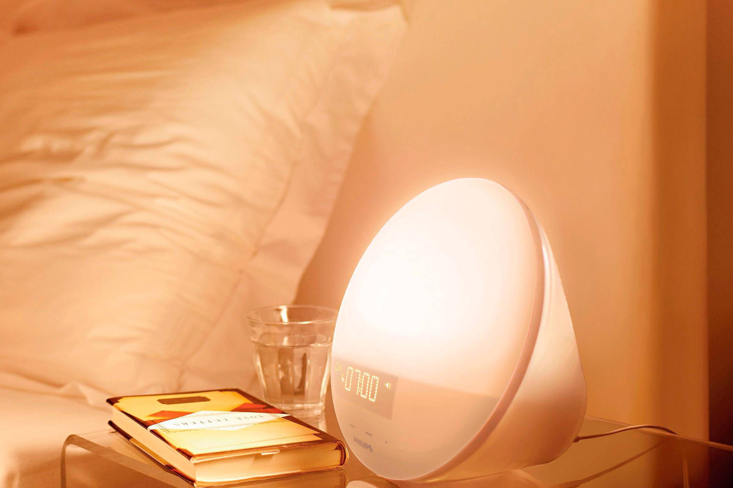 Philips Wekker Licht : Philips hf wake up light wehkamp