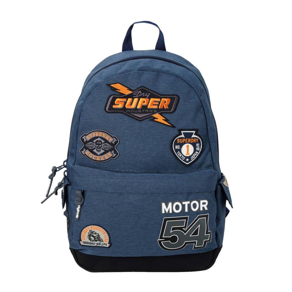 d783a206be4 Superdry Moto Montana rugzak, Dark Navy Marl