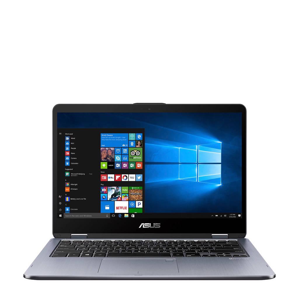 Asus VivoBook Flip TP410UA-EC251T 14 inch Full HD 2-in-1 laptop, Grijs