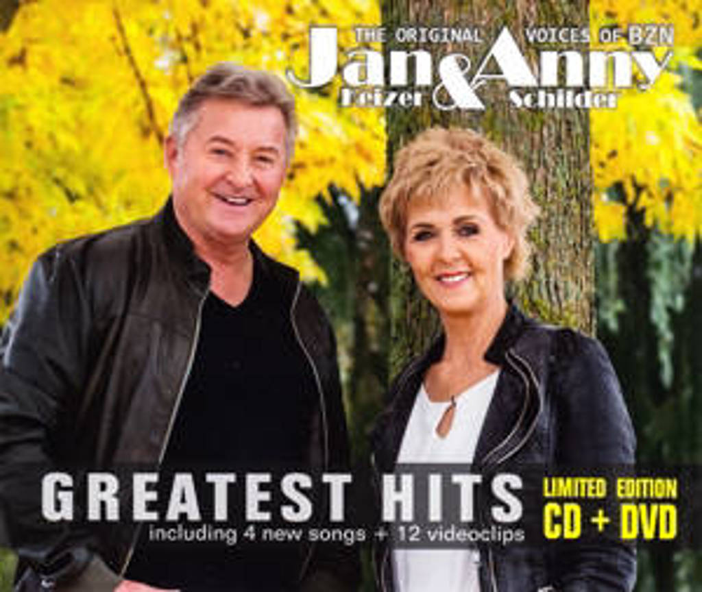 Jan & Anny Schilder Keizer - Greatest Hits Cd&Dvd (CD)