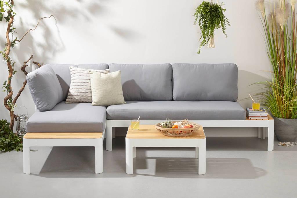 whkmp's own Loungeset Granada, Wit/grijs