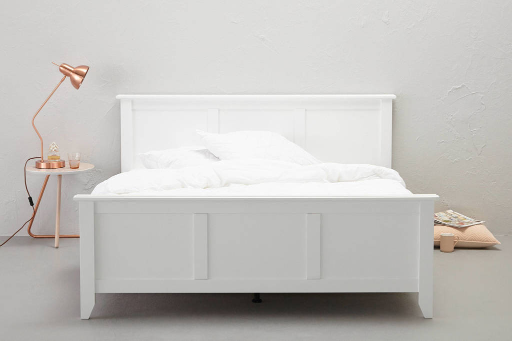 Beter Bed bed Fontana (140x200 cm), Wit