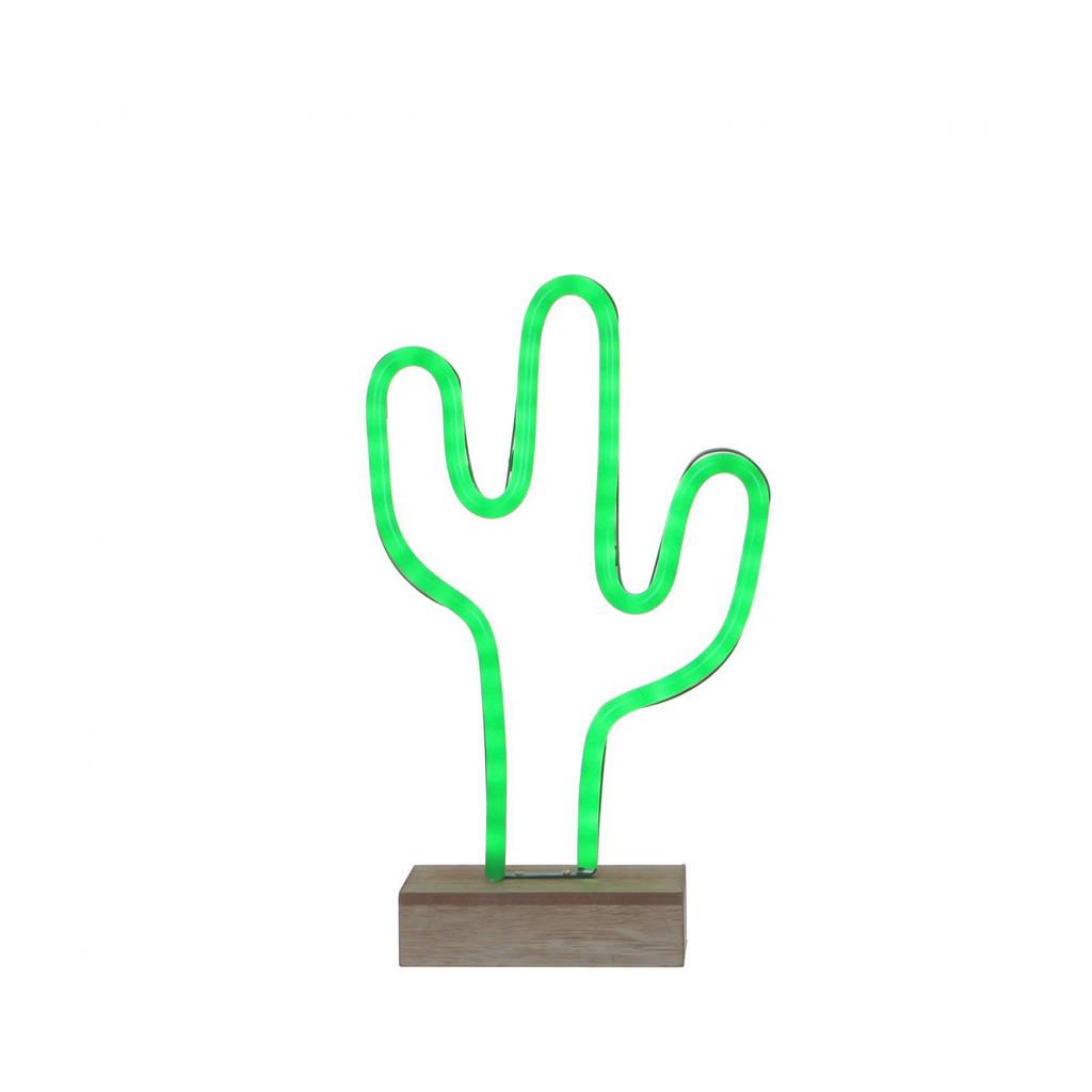 House of Seasons neonverlichting Cactus (led), Groen