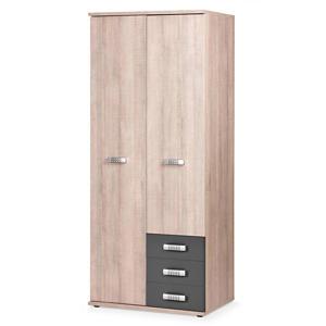 2-deurs kledingkast wit Pep