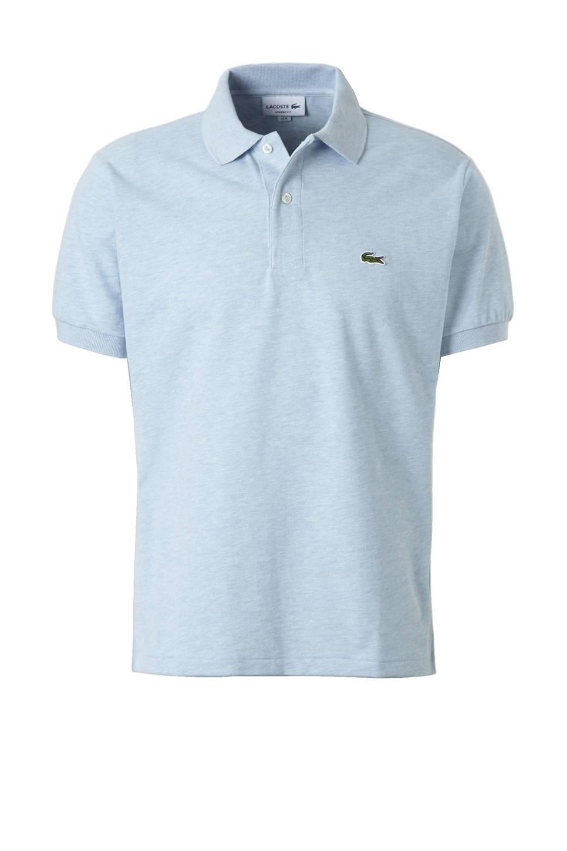 Lacoste classic fit polo, Lichtblauw