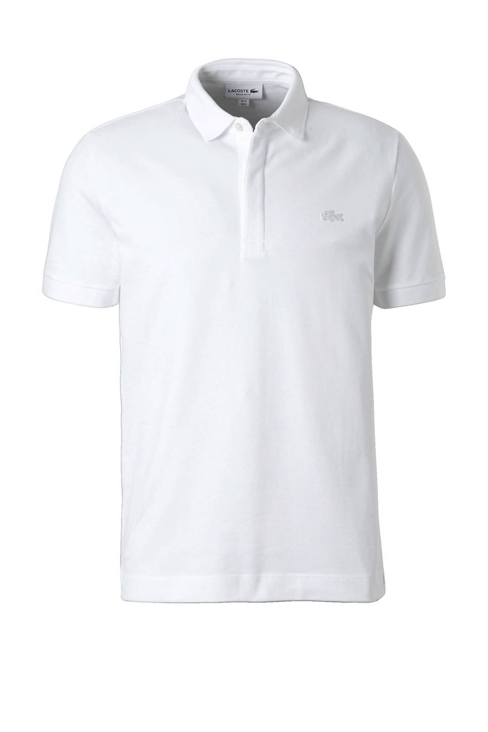 Lacoste regular fit polo, Wit