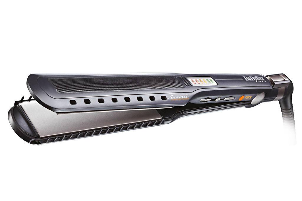 BaByliss ST289E Ipro 230 Ionic Ultimate stijltang, Zwart