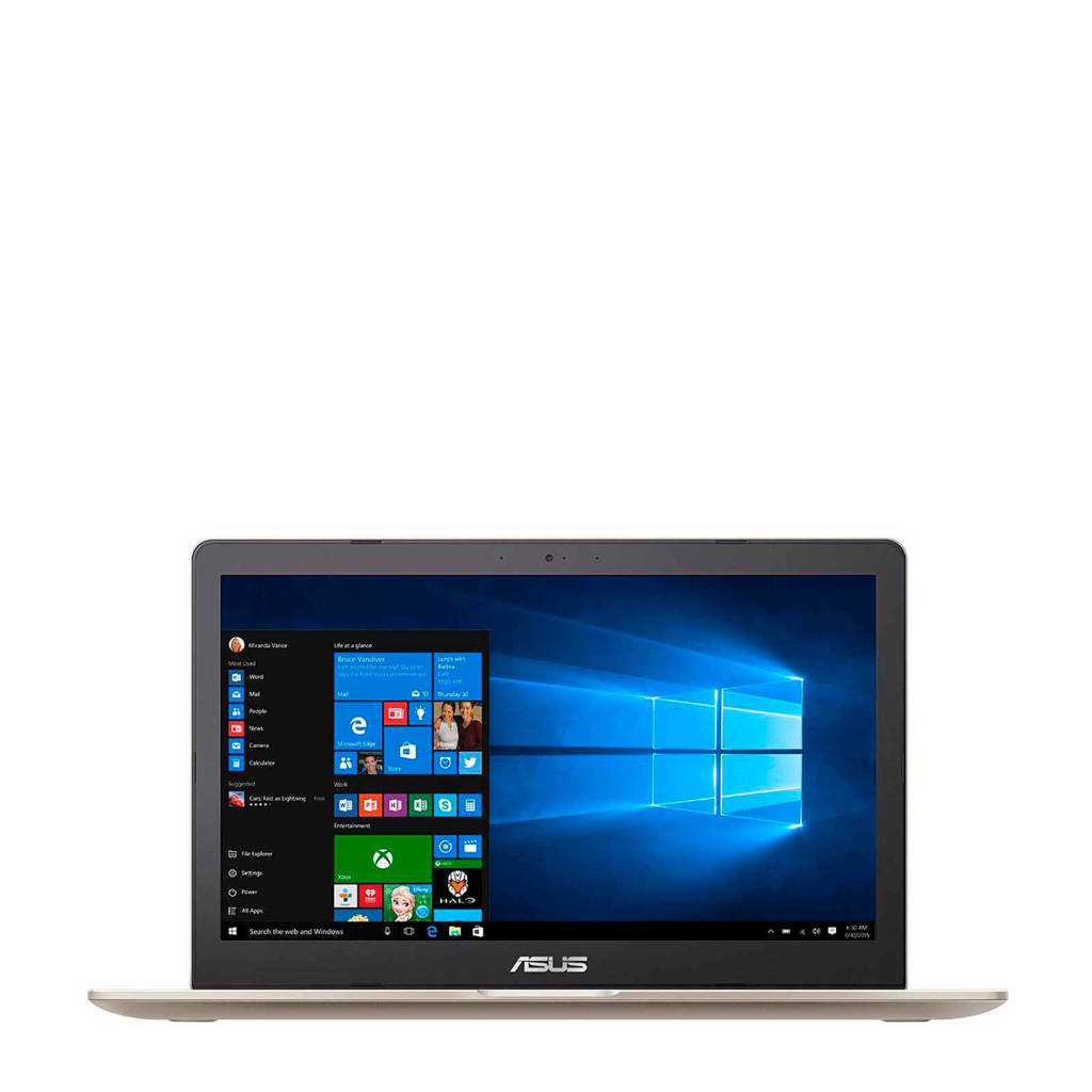 Asus VivoBook Pro N580VD-FJ285T 15.6 inch Ultra HD (4K) laptop, Goud, Metallic